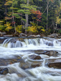 Lower Swift River Falls  White Mountains  New Hampshire  USA