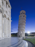 Leaning Tower of Pisa at Dawn  Pisa  Italy