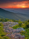 Franklin Cliff Overlook  Virginia  USA