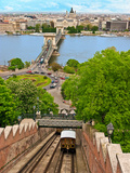 Castle Hill Funicular  Budapest  Hungary