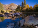 Sunrise at North Lake  Eastern Sierra Foothills  California  USA