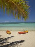 Kayaks on the Beach  Plantation Island Resort  Malolo Lailai Island  Mamanuca Islands  Fiji