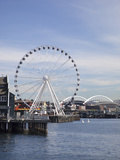 The Seattle Great Wheel  Seattle  Washington  USA
