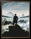 The Wanderer Above the Sea of Fog  c1818