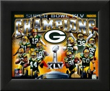 Green Bay Packers Super Bowl XLV Champions Composite (Horizontal)