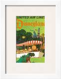 United Airlines Disneyland  Anaheim  California  1960s