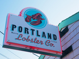 Lobster Restaurant  Portland  Maine  New England  United States of America  North America