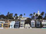 Beach Houses  Santa Monica  Los Angeles  California  United States of America  North America