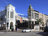 Rodeo Drive  Beverly Hills  Los Angeles  California  Usa