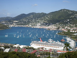 Charlotte Amalie  St Thomas  US Virgin Islands  West Indies  Caribbean  Central America