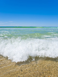 Crystal Clear Blue Sea at Surfers Paradise  Gold Coast  Queensland  Australia  Pacific