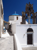 Church and Souvenir Shop at Santorini  Cyclades  Greek Islands  Greece  Europe