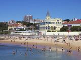 Tamariz Beach  Estoril  Portugal  Europe