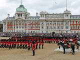 Soldiers at Trooping Colour 2012  Birthday Parade of Queen  Horse Guards  London  England