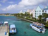 Paradise Island Ferry Terminal  Nassau City  New Providence Island  Bahamas  West Indies
