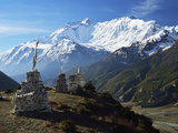 Annapurna Himalayan Range  Marsyangdi River Valley  Gandaki  Western Region (Pashchimanchal)  Nepal