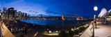 People Drinking at Opera House Bar at Sydney Opera House  Harbour Bridge and Skyline  Australia