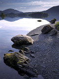 Derwent Water  Lake District National Park  Cumbria  England  United Kingdom  Europe