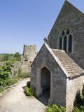 The Chapel of the 14th Century Farleigh Hungerford Castle  Somerset  England  UK  Europe