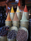 Spice Shop  Marrakech  Morocco  North Africa  Africa