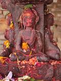 Statue  Patan  Bagmati  Central Region (Madhyamanchal)  Nepal  Asia