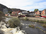 River Dee  Llangollen  Dee Valley  Denbighshire  North Wales  Wales  United Kingdom  Europe