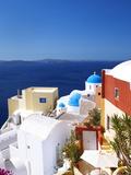 Oia  Santorini  Cyclades  Greek Islands  Greece  Europe