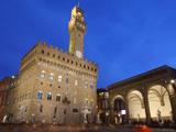 Piazza della Signoria and Palazzo Vecchio  Florence  UNESCO World Heritage Site  Tuscany  Italy