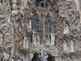 Sagrada Familia Cathedral by Gaudi  UNESCO World Heritage Site  Barcelona  Catalunya  Spain
