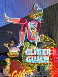 The Freemont Street Experience in Downtown Las Vegas, Las Vegas, Nevada, USA, North America Papier Photo par Gavin Hellier
