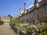 Vicar's Close  Oldest Surviving Purely Residential Street in Europe  Wells Somerset  England