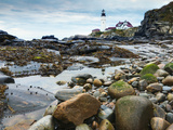 Portland Head Lighthouse  Portland  Maine  New England  United States of America  North America