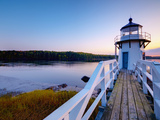 Doubling Point Light  Maine  New England  United States of America  North America