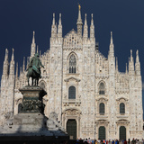 Duomo  Milan  Lombardy  Italy  Europe