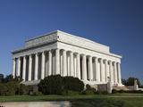 The Lincoln Memorial  Washington DC  United States of America  North America
