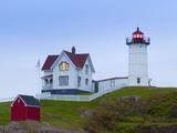 Cape Neddick (The Nubble) Lighthouse  Cape Neddick  Maine  New England  USA  North America