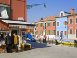 Store on Corte Novello  Burano Island  Venice  Veneto  Italy  Europe