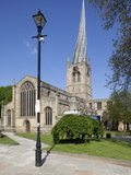 The Crooked Spire of St Mary and All Saints Church  Chesterfield  Derbyshire  England  UK  Europe