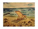 The Beach Chair by the Sea