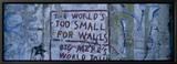 Graffiti on a Wall  Berlin Wall  Berlin  Germany