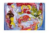 Who Stole the Tarts Reproduction d'art par Zelda Fitzgerald