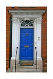 Blue Old Door in Windsor  England