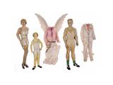 Paper Dolls of Scott  Zelda and Scottie
