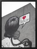 I Love Berlin' Mural on Building  Berlin  Germany