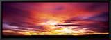 Sunset, Canyon De Chelly, Arizona, USA Tableau sur toile encadré par Panoramic Images