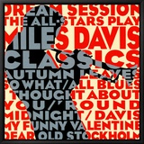 Dream Session: The All-Stars Play Miles Davis Classics Tableau sur toile encadré