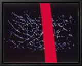 Abstract Image in Black and Red Tableau sur toile encadré par Daniel Root
