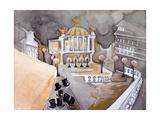 Place De Le Opera Reproduction d'art par Zelda Fitzgerald