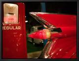 Cadillac rouge, 1959, musée de la collection automobile d'Elvis Presley, Memphis, Tennessee, États-Unis Tableau sur toile encadré par Walter Bibikow