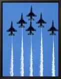 Fighter Jets in Formation Tableau sur toile encadré par Tim Lynch